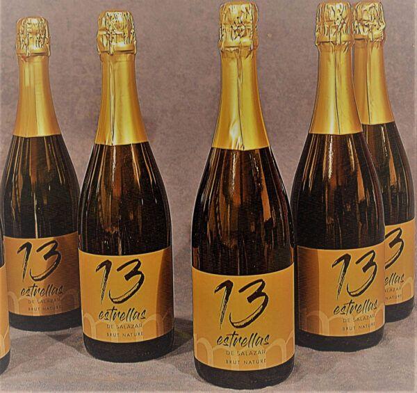 13 Estrellas Brut Nature Botellas